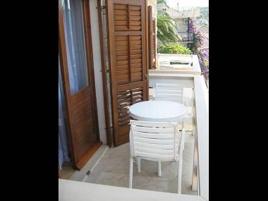 A3(4+1): terrace - 2190 A3(4+1) - Povlja - Povlja - rentals