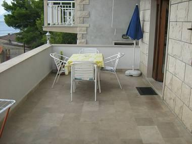 A1(4): terrace - 2190 A1(4) - Povlja - Povlja - rentals