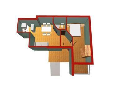 A1(2+2): floor plan - 01413MAKA A1(2+2) - Makarska - Makarska - rentals