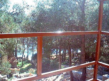 A2(2): balcony view - 00601MILN A2(2) - Cove Osibova (Milna) - Cove Osibova (Milna) - rentals