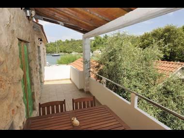 A1(4+1): covered terrace - 2271  A1(4+1) - Scedro (Island Scedro) - Island Scedro - rentals