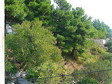 P2(2+2): terrace view - 01113PODG  P2(2+2) - Podgora - Podgora - rentals