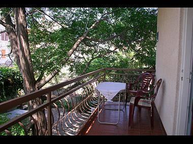 A1(2+2): balcony - 02412TROG A1(2+2) - Trogir - Trogir - rentals