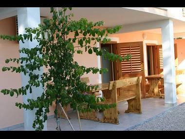 A1(4): covered terrace - 2449 A1(4) - Podstrana - Podstrana - rentals