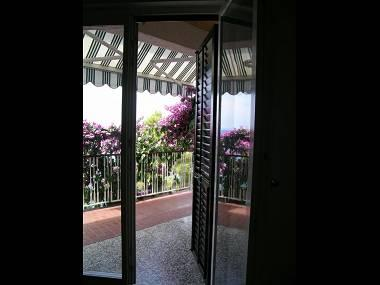 A1(2+2): terrace view - 00209KRIL A1(2+2) - Krilo Jesenice - Krilo Jesenice - rentals