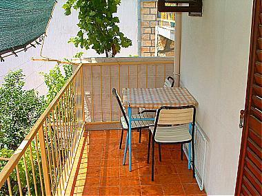 A1(2+2): balcony - 00604KOMI  A1(2+2) - Komiza - Komiza - rentals