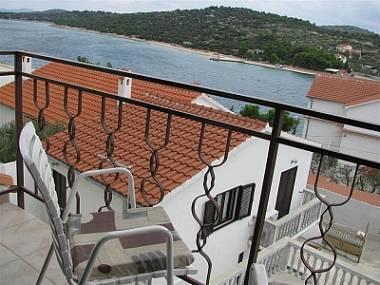 A2(2): balcony view - 00510JEZE  A2(2) - Jezera - Jezera - rentals