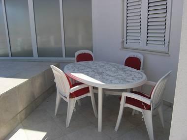 A13 (4+2): terrace - 2442 A13 (4+2) - Pirovac - Pirovac - rentals