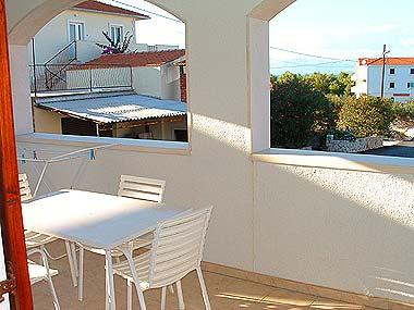 A3(2+1): covered terrace - 00301SUPE  A3(2+1) - Supetar - Supetar - rentals