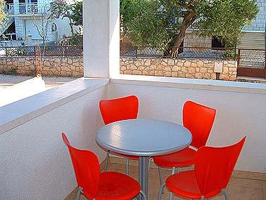 A5(3+1): covered terrace - 00301SUPE  A5(3+1) - Supetar - Supetar - rentals