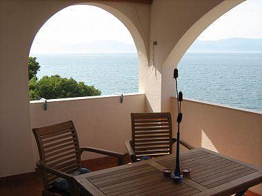 A3(2+2): terrace view - 01613GRAD A3(2+2) - Gradac - Gradac - rentals