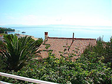 A4(4+2): terrace view - 01513BVOD  A4(4+2) - Baska Voda - Baska Voda - rentals