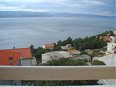 A4(2): terrace view - 01209STAN A4(2) - Stanici - Stanici - rentals
