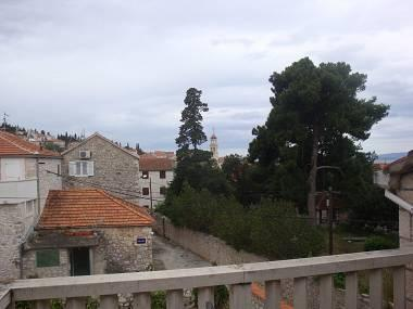 A3 Crveni(2+2): terrace view - 004SUTI A3 Crveni(2+2) - Sutivan - Sutivan - rentals