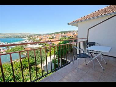 A4(2+1): terrace - 01112OKRG A4(2+1) - Okrug Gornji - Okrug Gornji - rentals