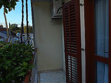 A1(2): balcony - 00616MLIN A1(2) - Kupari - Kupari - rentals