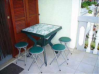 A1(4+2): terrace - 00305PAKO A1(4+2) - Pakostane - Pakostane - rentals