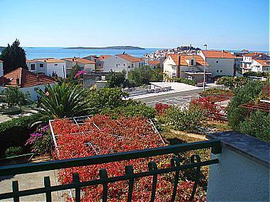A1(6+2): terrace view - 02806PRIM  A1(6+2) - Primosten - Primosten - rentals