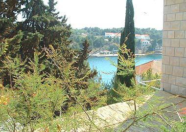 A2 gornji (2+2): balcony view - 01901MILN A2 gornji (2+2) - Milna (Brac) - Milna (Brac) - rentals