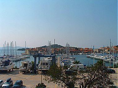 A3(2+1): terrace view - 00506TRIB A3(2+1) - Tribunj - Tribunj - rentals