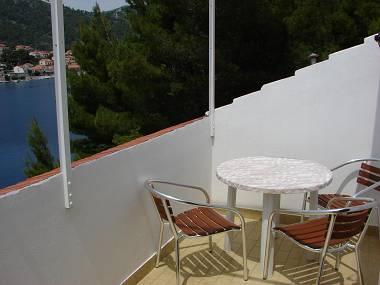 A3(2+1): balcony - 2308 A3(2+1) - Brna - Brna - rentals