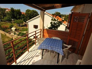 A4(4+1): terrace - 00801SUTI A4(4+1) - Sutivan - Sutivan - rentals
