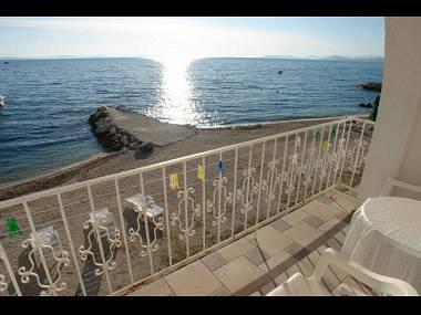 A2(2): terrace view - 2144 A2(2) - Podstrana - Podstrana - rentals