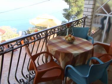 A3(4+1): terrace - 01407TROG  A3(4+1) - Mastrinka - Mastrinka - rentals
