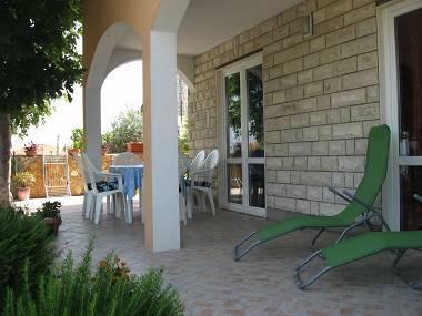 A1(4+1): terrace - 2299 A1(4+1) - Okrug Gornji - Okrug Gornji - rentals