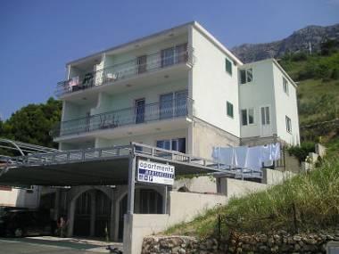 house - 02713BREL  A1(2+2) - Brela - Brela - rentals