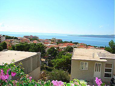 A1(2+1): terrace view - A01413BVOD  A1(2+1) - Baska Voda - Baska Voda - rentals
