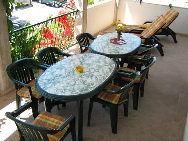 A1(8): covered terrace - 00709PISA A1(8) - Pisak - Pisak - rentals