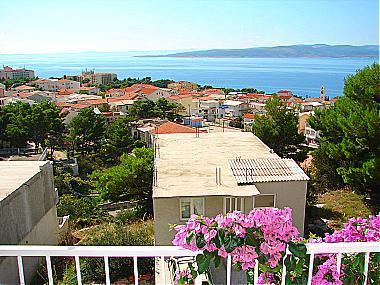 A4(2+1): terrace view - A01413BVOD  A4(2+1) - Baska Voda - Baska Voda - rentals