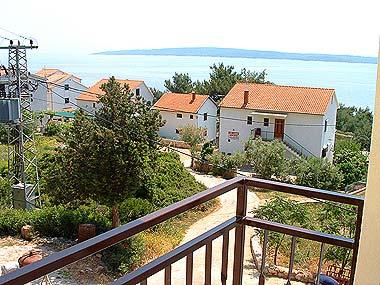 Ante(2): balcony view - 00603ZAVA Ante(2) - Zavala - Zavala - rentals