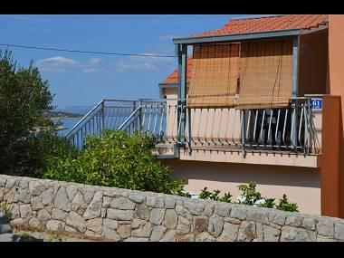 A2(2+3): terrace - 00602STOM A2(2+3) - Stomorska - Stomorska - rentals