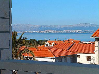 A1(4+1): terrace view - 07101SUPE  A1(4+1) - Supetar - Supetar - rentals