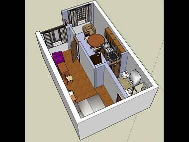 A2(2+1): floor plan - 00805BIOG A2(2+1) - Biograd - Biograd - rentals