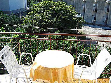 A2(3+1): balcony - 01813PODG  A2(3+1) - Podgora - Podgora - rentals