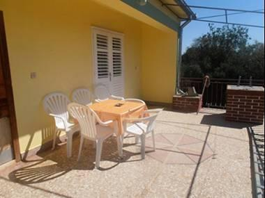 A1(6): covered terrace - 00219SUTO A1(6) - Sutomiscica - Sutomiscica - rentals