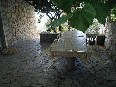 A1(6): garden terrace - 001VMIL  A1(6) - Milna (Vis) - Milna (Vis) - rentals