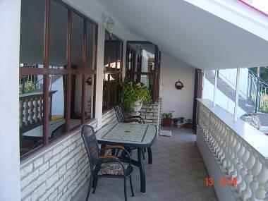A2(4+1): covered terrace - 00218SUKO  A2(4+1) - Sukosan - Sukosan - rentals
