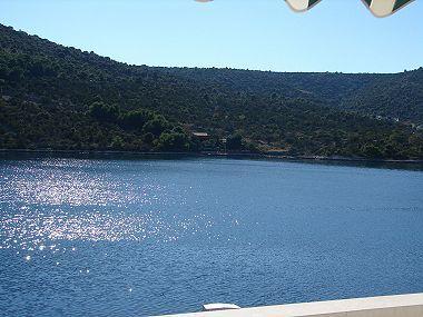 A3(2+1): terrace view - 02107VINI  A3(2+1) - Vinisce - Vinisce - rentals