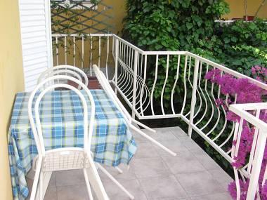 A1(2+1): covered terrace - 01817OREB A1(2+1) - Orebic - Orebic - rentals