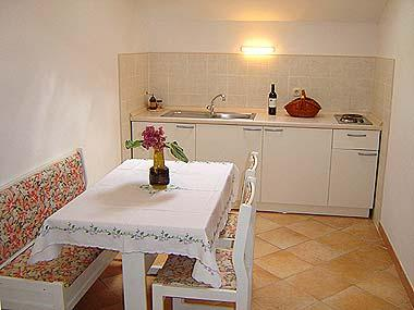 A1(2): kitchen and dining room - 02101SUPE  A1(2) - Supetar - Supetar - rentals