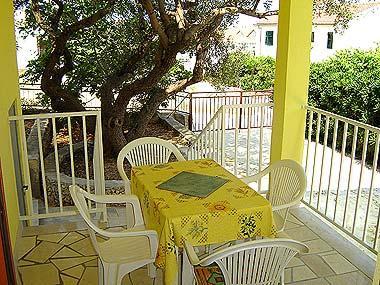 A1(3): covered terrace - 05501SUPE A1(3) - Supetar - Supetar - rentals