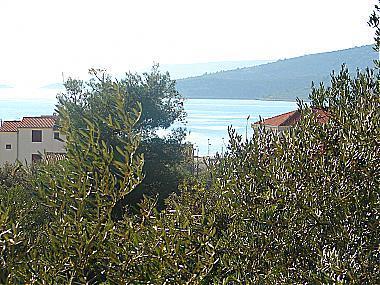 A4(2+1): terrace view - 0107SEGV A4(2+1) - Seget Vranjica - Seget Vranjica - rentals