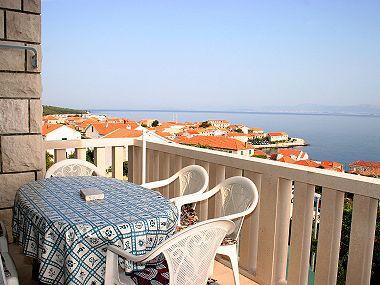 A3(6+2): sea view - 02101POST  A3(6+2) - Postira - Postira - rentals