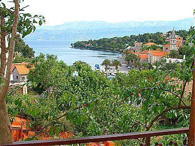 A1(6): terrace view - 01001SPL A1(6) - Splitska - Splitska - rentals
