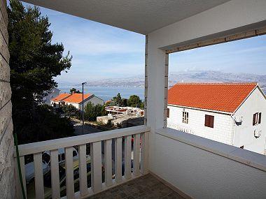 Nela 1(2): terrace view - 04401POST Nela 1(2) - Postira - Postira - rentals