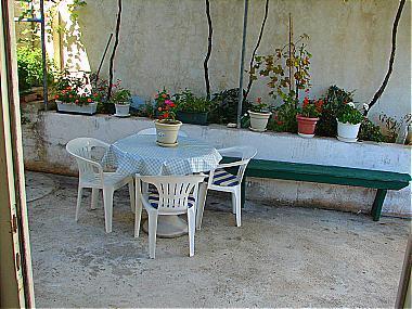 A2(2+2): terrace - 00513IGRA A2(2+2) - Igrane - Igrane - rentals